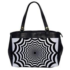 Spider Web Hypnotic Office Handbags by Amaryn4rt