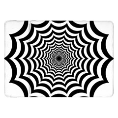 Spider Web Hypnotic Samsung Galaxy Tab 8 9  P7300 Flip Case by Amaryn4rt