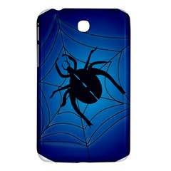 Spider On Web Samsung Galaxy Tab 3 (7 ) P3200 Hardshell Case  by Amaryn4rt