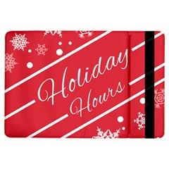 Winter Holiday Hours Ipad Air Flip
