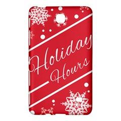 Winter Holiday Hours Samsung Galaxy Tab 4 (8 ) Hardshell Case  by Amaryn4rt