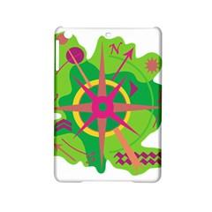 Green Navigation Ipad Mini 2 Hardshell Cases by Valentinaart