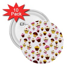Eat Me 2 25  Buttons (10 Pack)  by Valentinaart