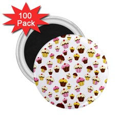 Eat Me 2 25  Magnets (100 Pack)  by Valentinaart