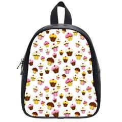 Eat Me School Bags (small)  by Valentinaart