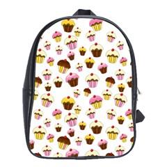 Eat Me School Bags (xl)  by Valentinaart