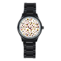 Eat Me Stainless Steel Round Watch by Valentinaart