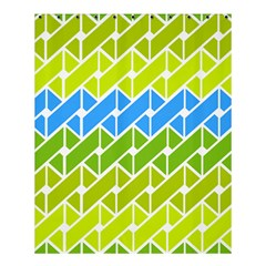 Link Pattern Shower Curtain 60  X 72  (medium)