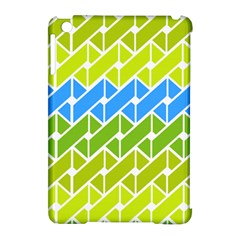 Link Pattern Apple iPad Mini Hardshell Case (Compatible with Smart Cover) by AnjaniArt