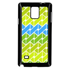Link Pattern Samsung Galaxy Note 4 Case (black) by AnjaniArt