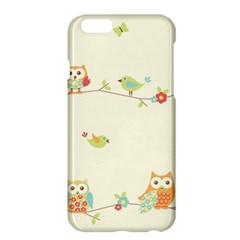Owl Butterfly Bird Apple Iphone 6 Plus/6s Plus Hardshell Case by AnjaniArt