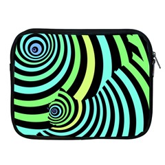 Optical Illusions Checkered Basic Optical Bending Pictures Cat Apple Ipad 2/3/4 Zipper Cases by AnjaniArt