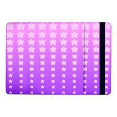 Purple And Pink Stars Samsung Galaxy Tab Pro 10 1  Flip Case by AnjaniArt