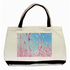 Pink Colour Basic Tote Bag by AnjaniArt