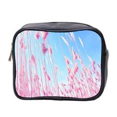 Pink Colour Mini Toiletries Bag 2 Side by AnjaniArt