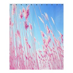 Pink Colour Shower Curtain 60  X 72  (medium)