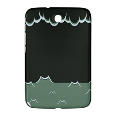 Rain Cloudy Sky Samsung Galaxy Note 8 0 N5100 Hardshell Case  by AnjaniArt