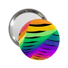 Rainbow 2.25  Handbag Mirrors by AnjaniArt