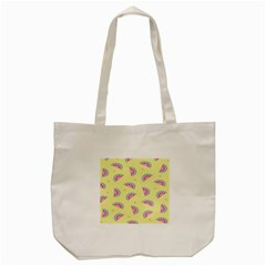 Watermelon Tote Bag (cream) by AnjaniArt