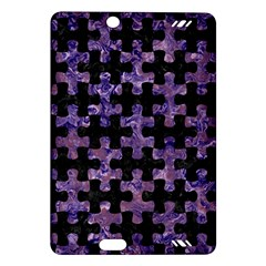 Puzzle1 Black Marble & Purple Marble Amazon Kindle Fire Hd (2013) Hardshell Case by trendistuff