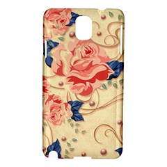 Beautiful Pink Roses Samsung Galaxy Note 3 N9005 Hardshell Case by Brittlevirginclothing