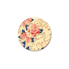 Beautiful Pink Roses Golf Ball Marker (4 Pack) by Brittlevirginclothing