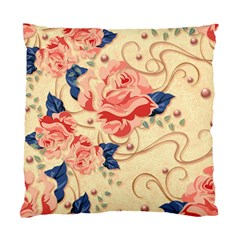 Beautiful Pink Roses Standard Cushion Case (one Side) by Brittlevirginclothing