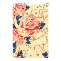 Beautiful Pink Roses Shower Curtain 48  X 72  (small)  by Brittlevirginclothing