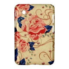 Beautiful Pink Roses Samsung Galaxy Tab 2 (7 ) P3100 Hardshell Case  by Brittlevirginclothing