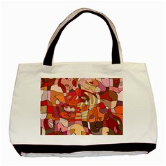 Abstract Abstraction Pattern Moder Basic Tote Bag (two Sides)