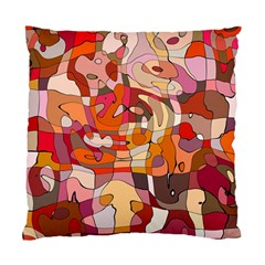 Abstract Abstraction Pattern Moder Standard Cushion Case (one Side)