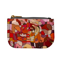 Abstract Abstraction Pattern Moder Mini Coin Purses by Amaryn4rt