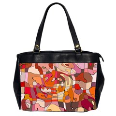 Abstract Abstraction Pattern Moder Office Handbags (2 Sides)