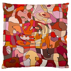 Abstract Abstraction Pattern Moder Large Cushion Case (two Sides)