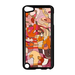 Abstract Abstraction Pattern Moder Apple Ipod Touch 5 Case (black)