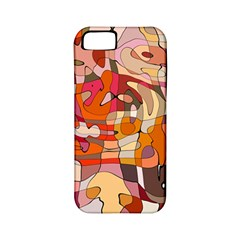 Abstract Abstraction Pattern Moder Apple Iphone 5 Classic Hardshell Case (pc+silicone)