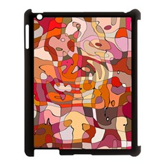 Abstract Abstraction Pattern Moder Apple Ipad 3/4 Case (black) by Amaryn4rt