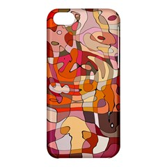 Abstract Abstraction Pattern Moder Apple Iphone 5c Hardshell Case by Amaryn4rt