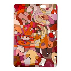 Abstract Abstraction Pattern Moder Kindle Fire Hdx 8 9  Hardshell Case