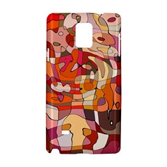Abstract Abstraction Pattern Moder Samsung Galaxy Note 4 Hardshell Case