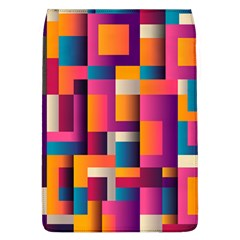 Abstract Background Geometry Blocks Flap Covers (l)  by Amaryn4rt