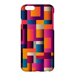 Abstract Background Geometry Blocks Apple Iphone 6 Plus/6s Plus Hardshell Case