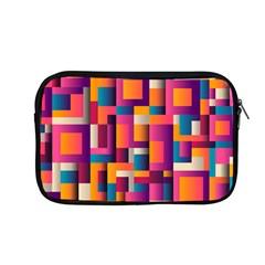 Abstract Background Geometry Blocks Apple Macbook Pro 13  Zipper Case by Amaryn4rt