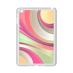Abstract Colorful Background Wavy Ipad Mini 2 Enamel Coated Cases by Amaryn4rt