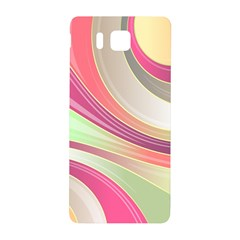Abstract Colorful Background Wavy Samsung Galaxy Alpha Hardshell Back Case by Amaryn4rt