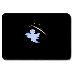 Ghost Night Night Sky Small Sweet Large Doormat  by Amaryn4rt