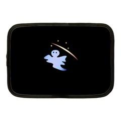Ghost Night Night Sky Small Sweet Netbook Case (medium)