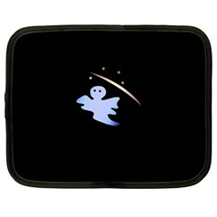 Ghost Night Night Sky Small Sweet Netbook Case (large)