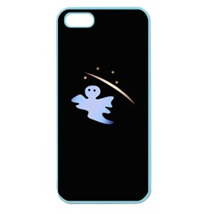 Ghost Night Night Sky Small Sweet Apple Seamless Iphone 5 Case (color) by Amaryn4rt