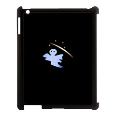 Ghost Night Night Sky Small Sweet Apple Ipad 3/4 Case (black) by Amaryn4rt